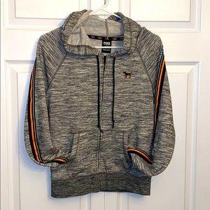 Women's size S PINK full zip hoodie!